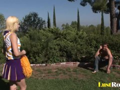 Pulsating Wang For A Pierced Blonde Ally Ann