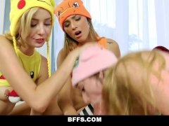 BFFS- Cute Pokemon Girls Fucked By Player