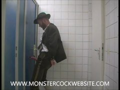 Anonymous Sucker In Public Toilet