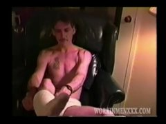 Homemade Movie Of Mature Fledgling Todd Wanking Off