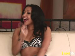 Playful Babe Vicki Chase With A CumCovered Face