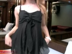 Full Video Of Feminine Transgender Teasing And Tuggin Woman Shaft