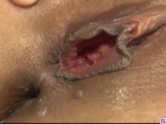 Kanade Otowa leaves two men to fuck her big time