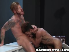 Hairy Aussie and Quebec Hunks Cum Together
