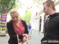 Erotic Vivien Blonde Gives A Bj