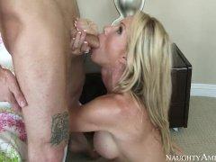 Step mom Simone likes big cock