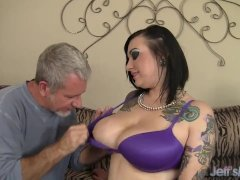 Big Titted Tattooed Plumper Loves To Fuck