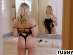 TUSHY Mia Malkova HUGE ANAL GAPES