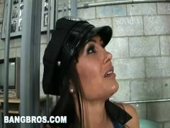 BANGBROS - Big Tits MILF Cop Lisa Ann Grants
