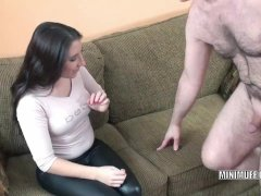 Gianna Love Is On Her Knees For A Blowjob