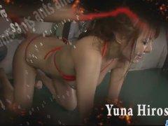 Filthy Babe In Tight Red Bikini Sucking Random Pol More At Javhd Net