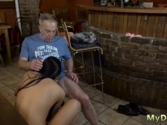 Old guy have sex with young girl part Can