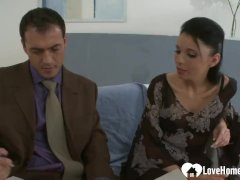 Tiny Tits Young Fucked By A Sexy Businessman