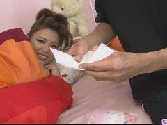 Yurika Gotou In Fishnet Widen Her Legs Before Her More At Slurpjp Com