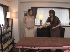 Erotic Massage Leads Maika To Insane Lesbian Scene More At Japanesemamas
