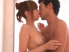 Real Japanese Home Romance With Hairy Anri Hoshiza More At 69avs Com