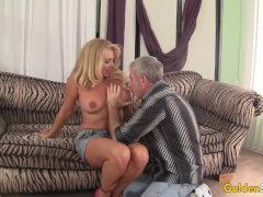 Sexy To Trot Mature Blonde Crystal Taylor Sucks Dick And Gets Plowed