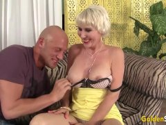 Blonde Dalny Marga Hammered And Jizzed