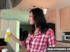 Reality Kings - Sloppy Teen Jade Jantzen Knows Her Way Around The Kitchen An