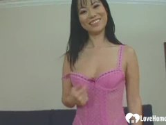 Korean In Stockings Loves To Get Penetrated