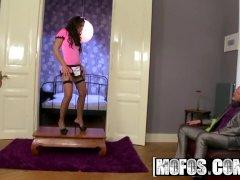 Slutty Housemaid Ferrara Gomez Gives Lapdance And Gets Fucked