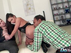 Housewife Mira Hotwife Pounds A Black Guy While Her Passive Husband Watches