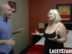 Laceystarr Gilf Seduces Big Dicked Hunk Into Hard Pounding