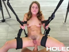 HOLED Anal Sex Swing Gets The Job Done