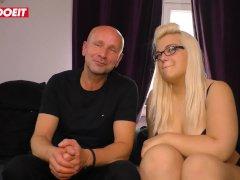 Letsdoeit - Chubby German Nubile Gets Filmed Romping Her Sugar Daddy