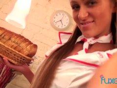Nurse Anna Akinfeev Solo Anal Toying