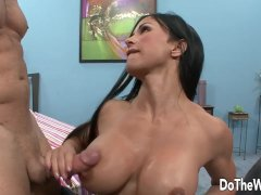 Big Tittied Fit Wife Jewels Jade Rides A Hard Dick In Front Of Her Cuckold Hubby