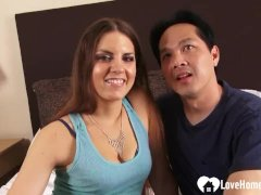 Incredible Brunette Bombshell Loves To Get Shafted