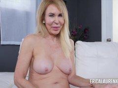 Milf Erica Lauren Wraps Her Lips Around A Big Penis
