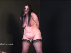 Pegged Bbw Slave Emmas Humiliating Penalty And Curvy Painslut Whipping