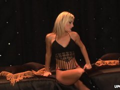 Sexy Blonde Fuck Doll Evie Delatosso Got Nailed All Night