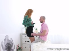 Young Courtesans - Lina Montana - Nailing Leggy Courtesan