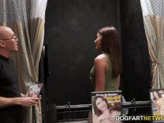 Adria Rae Services Dark-hued Folks With Her Throat And Slit - Gloryhole