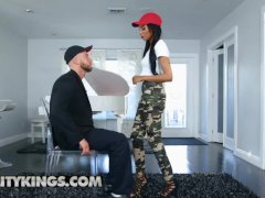 All Natural Afro-american Young Alexis Avery Gets Titty Fucked Reality Kings