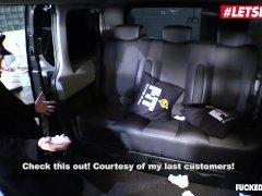 LETSDOEIT - Horny Czech Secretary Fucked Hard In The Taxi