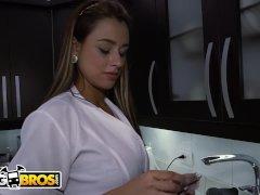 Big Ass Latin Housekeper Sofia Was Housemaid In Heaven