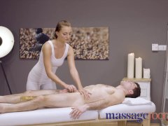 Massage Bedrooms Splendid Pert Youthful Massagist Katy Rose Gives Oily Forearm Job