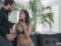 Horny Brown-haired Audrey Royal Requests A Xxx Poke From Her Boyfriend