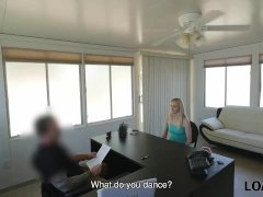 Allie Tells She Is A Stripper So Why Loan Agent Gets Sexy