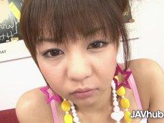 Javhub Small Hikaru Aoyama Pulverized And Creampied