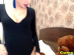Huge Ass Chick Playing Her Pussy Live
