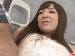 Runa Hanekawa In Asian Romance With A Big Penis