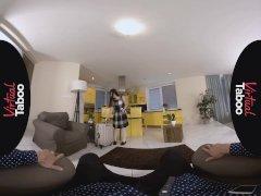 Virtual Taboo - Japanese Honda Mai Luvs Daddy's Huge Euro Dick