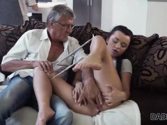 Erica Black Has Wild Sex With Bfs Daddy Behind His Back