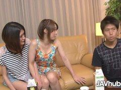 Javhub Asian Four-way With Hinata And Haruka