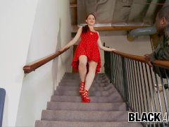 Black And Great Hot Red-headed Jessica Ryan Gets Pumped Full Of Black Seed